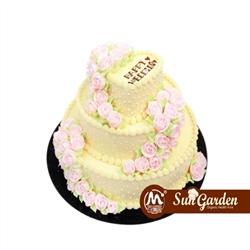 永恒恋人 奶油蛋糕 婚礼蛋糕